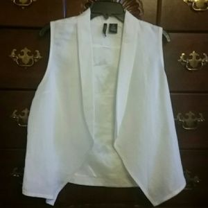 Jackets & Blazers - FINAL MARKDOWN White vest jacket New Directions